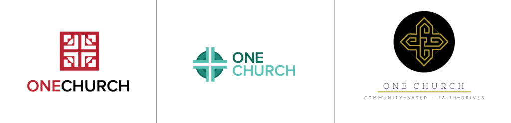 One Church Logo Options