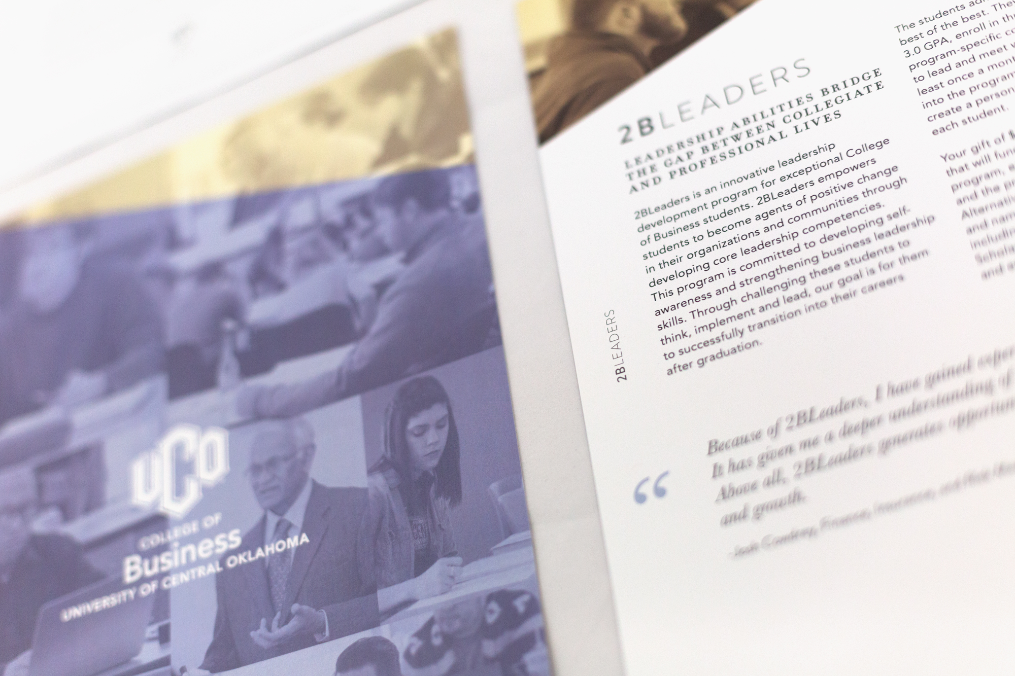 UCO College of Business Print Brochure