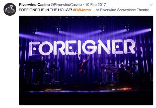 Live Event Coverage Hashtag