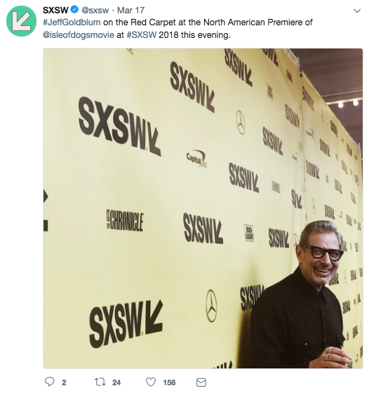 Live Event Coverage Hashtag South By Southwest