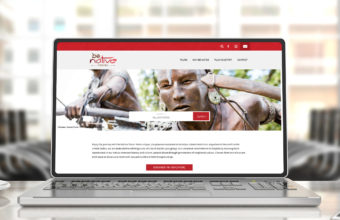 Be Native Tours Website Design and Development